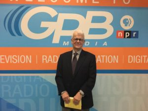 Robert Coram at GPB Atlanta